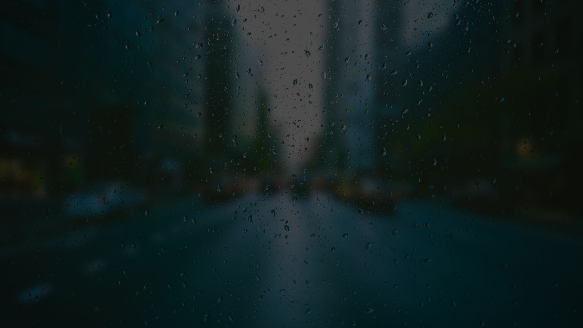 background image of rain of lens